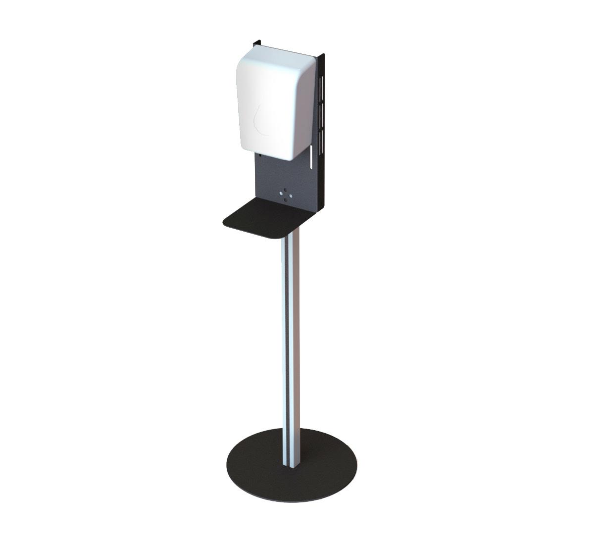 Freestanding Podium for Sanitiser Dispenser